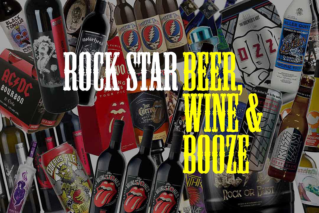 60 Rock Star Beer, Wine and Booze Brands