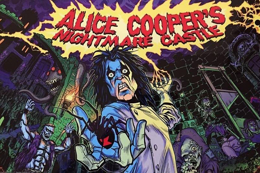 Alice Cooper Pinball Machine Coming Later This Year