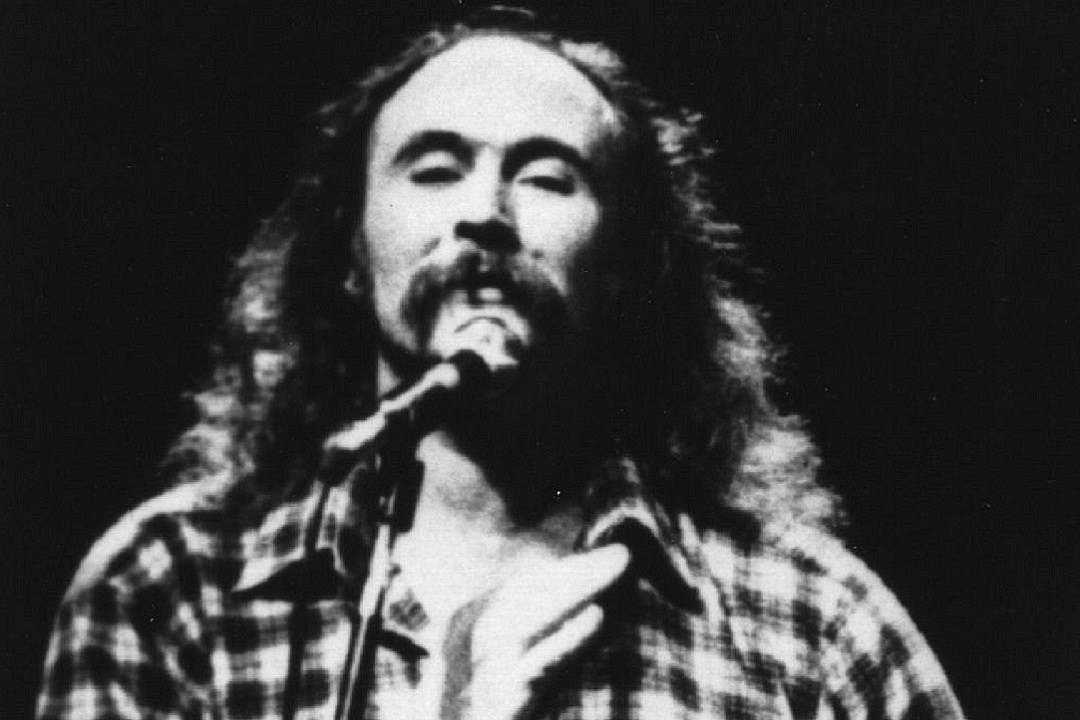 35 Years Ago: David Crosby Crashes Car, Found With Drugs and a Gun