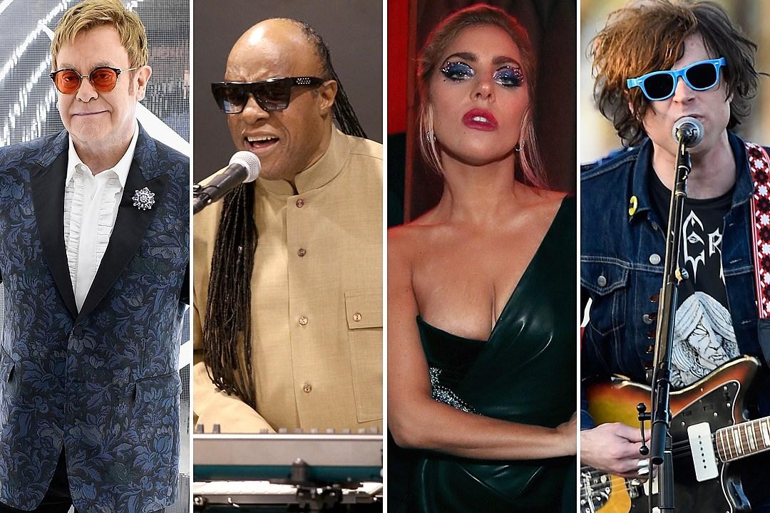 Watch Stevie Wonder, Lady Gaga and Ryan Adams Perform at Elton John