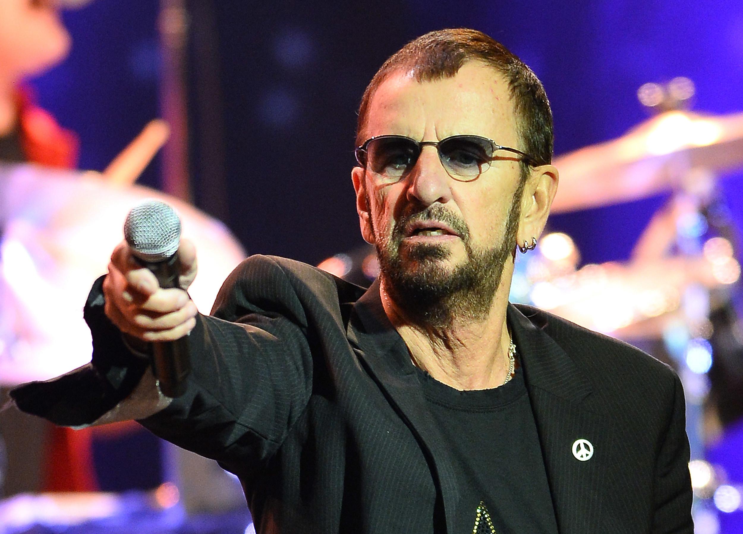 Ringo Starr kicks off tour in Las Vegas in October