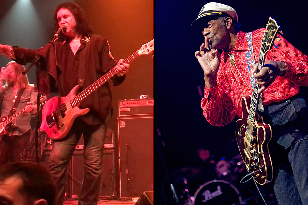 Gene Simmons Pays Tribute to Chuck Berry at First-Ever Solo Concert