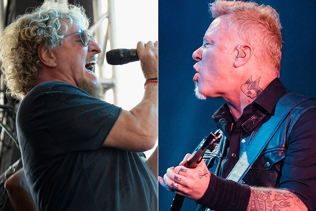 Sammy Hagar and James Hetfield Announce 2017 'Acoustic 4 A Cure' Lineup