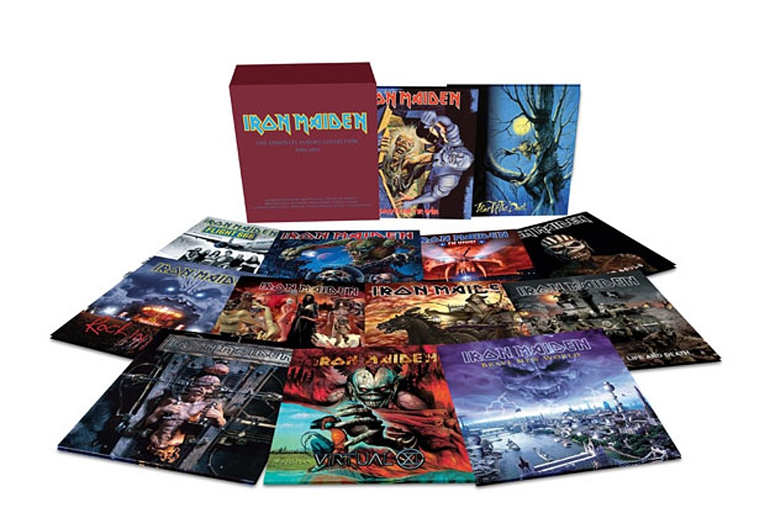 Iron Maiden Vinyl Reissues Continue with 12-LP Second Round