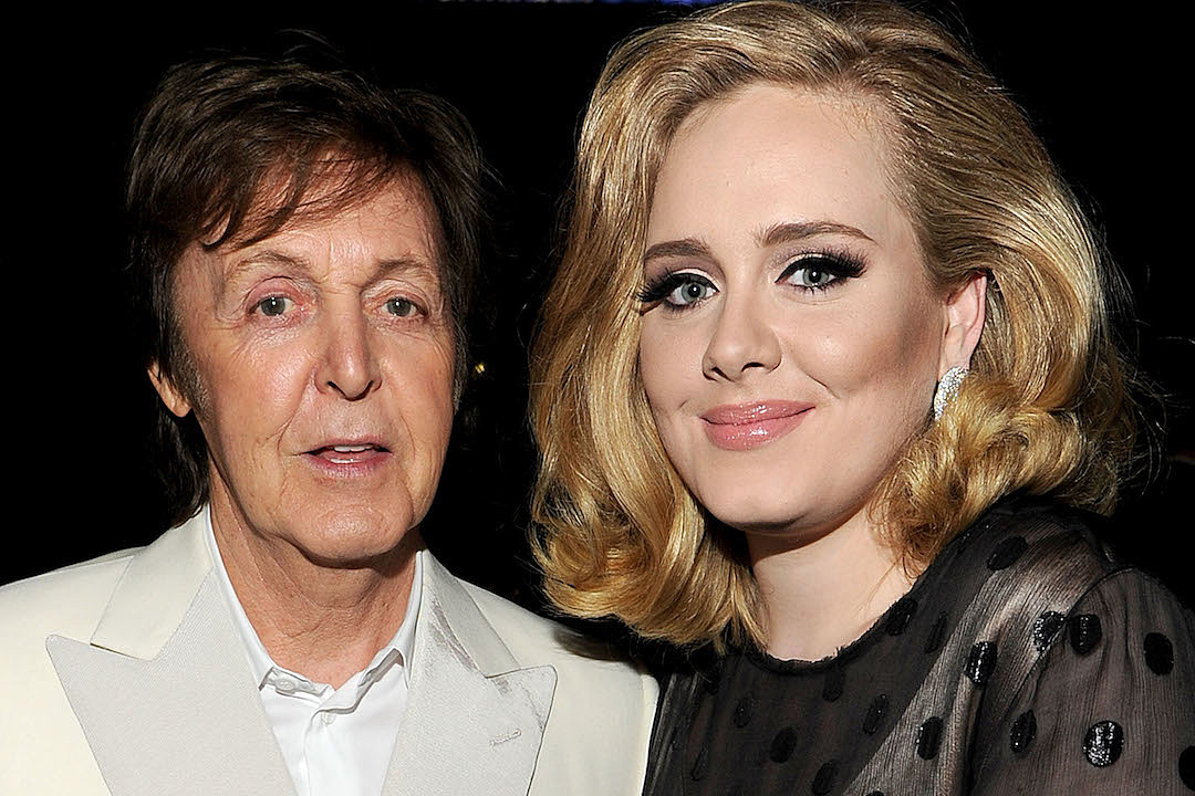 Paul McCartney Is Working With Another of Adele