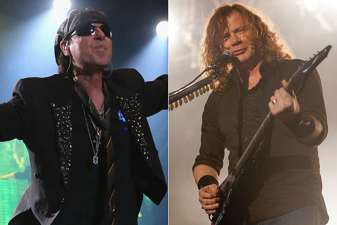Scorpions and Megadeth Announce 2017