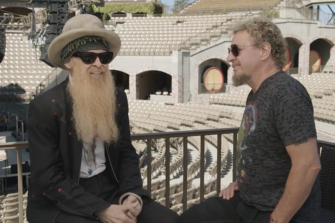Billy Gibbons and Sammy Hagar Talk About Favorite Blues Artists