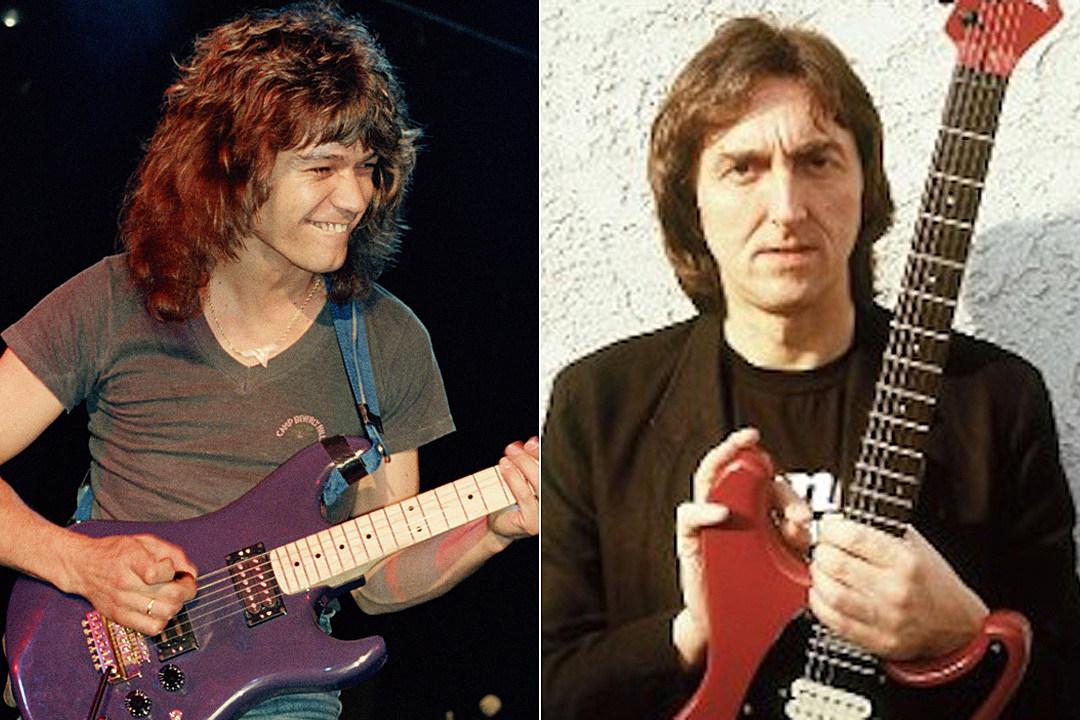 When Eddie Van Halen Jammed With His Hero Allan Holdsworth