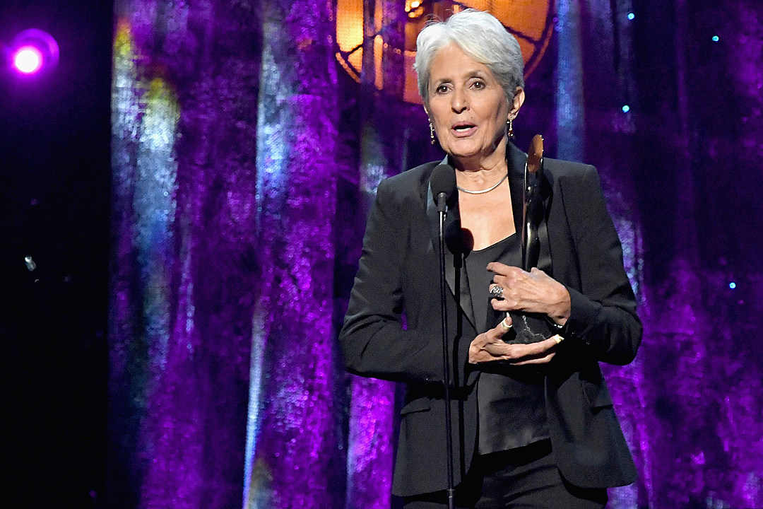Joan Baez Thanks Rock and Roll Hall of Fame for