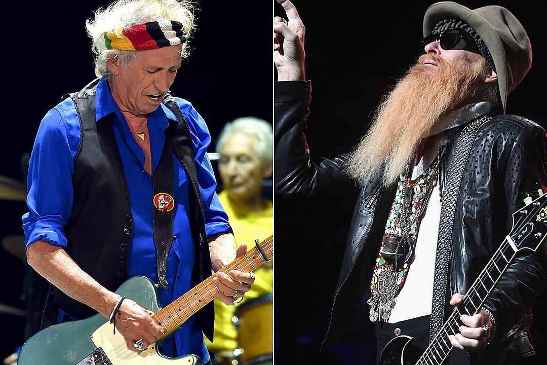 Keith Richards and Billy Gibbons Perform at Merle Haggard Tribute