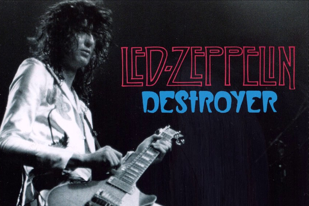 40 Years Ago: Led Zeppelin Play Cleveland Show Immortalized on 'Destroyer' Bootleg
