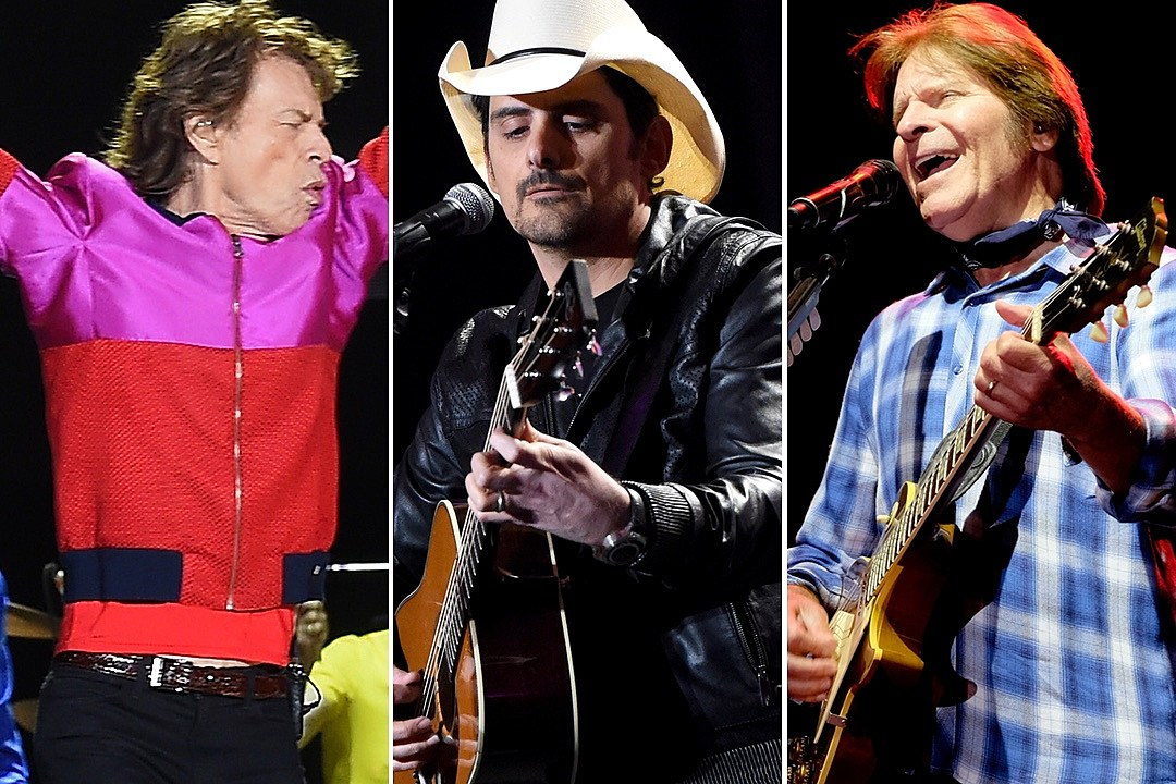 Mick Jagger and John Fogerty Appear on Brad Paisley