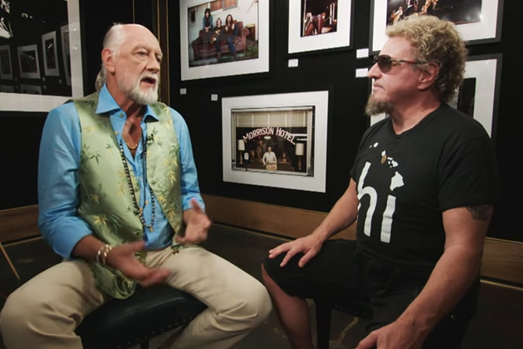 Watch Mick Fleetwood and Sammy Hagar Talk About the