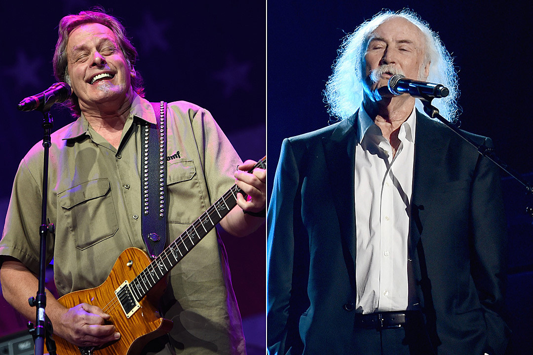 Ted Nugent and David Crosby Exchange Insults After White House Visit