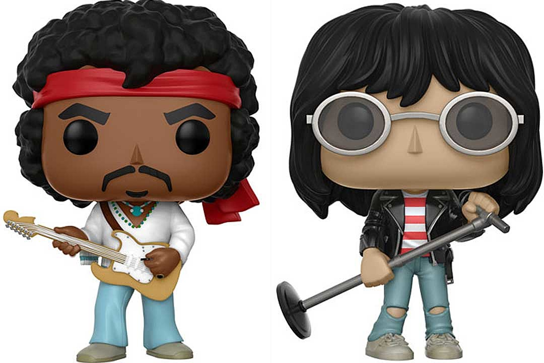 Jimi Hendrix and Joey Ramone Are Getting Their Own Funko Pop!s