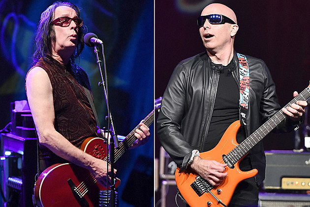 Todd Rundgren and Joe Satriani