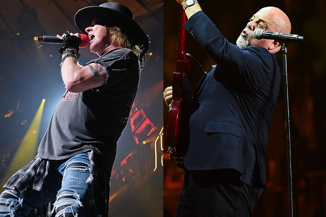 Watch Axl Rose Join Billy Joel for