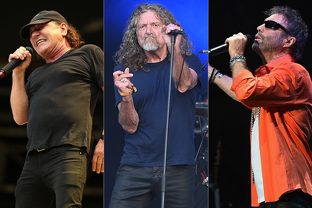 Brian Johnson Returns to the Stage to Sing With Robert Plant and Paul Rodgers