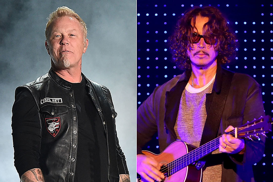James Hetfield Calls Chris Cornell