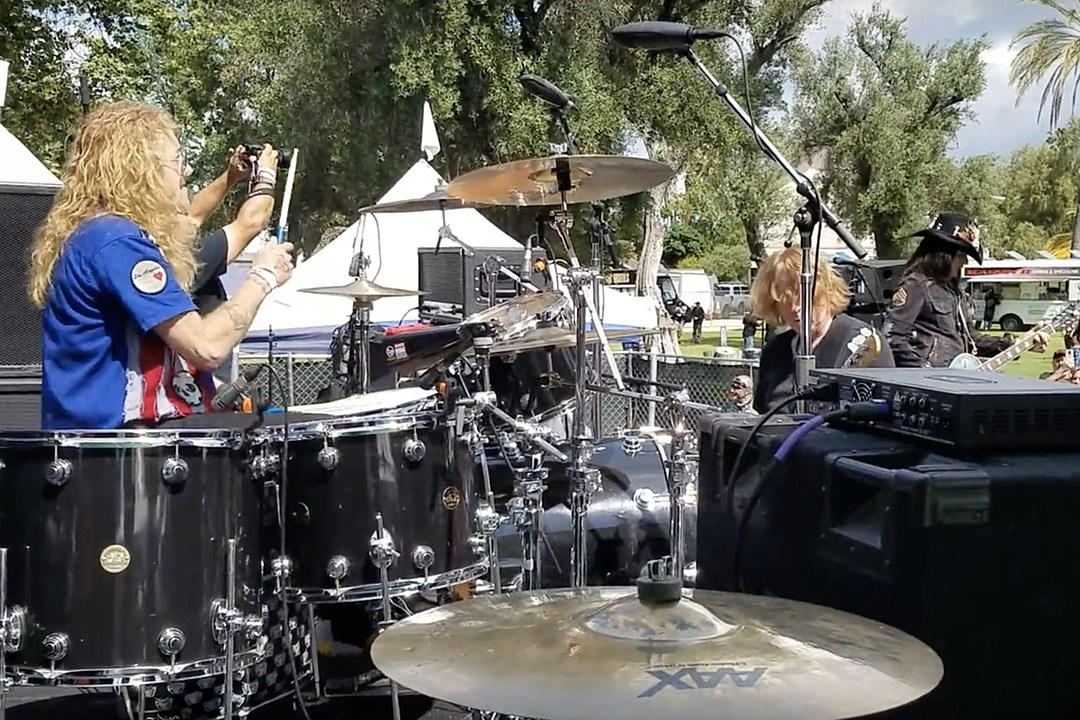 Watch Steven Adler Play Guns N