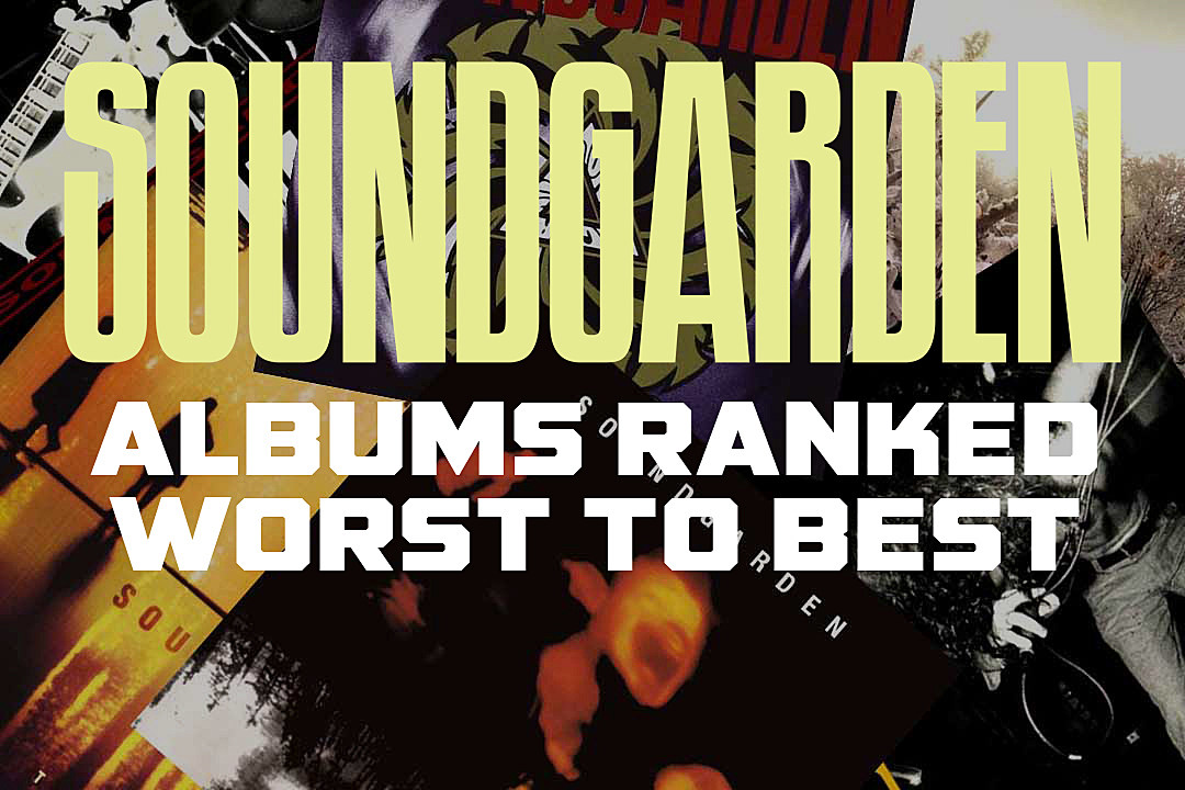Soundgarden Albums Ranked Worst to Best