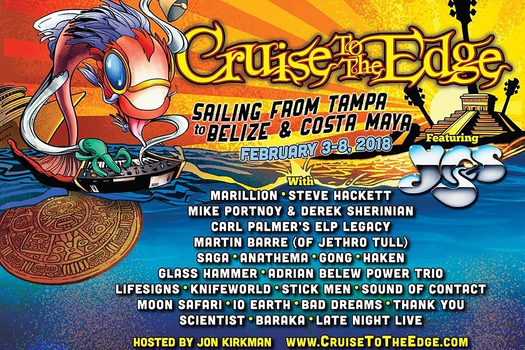 Yes Announce 2018 Cruise to the Edge Dates and Lineup