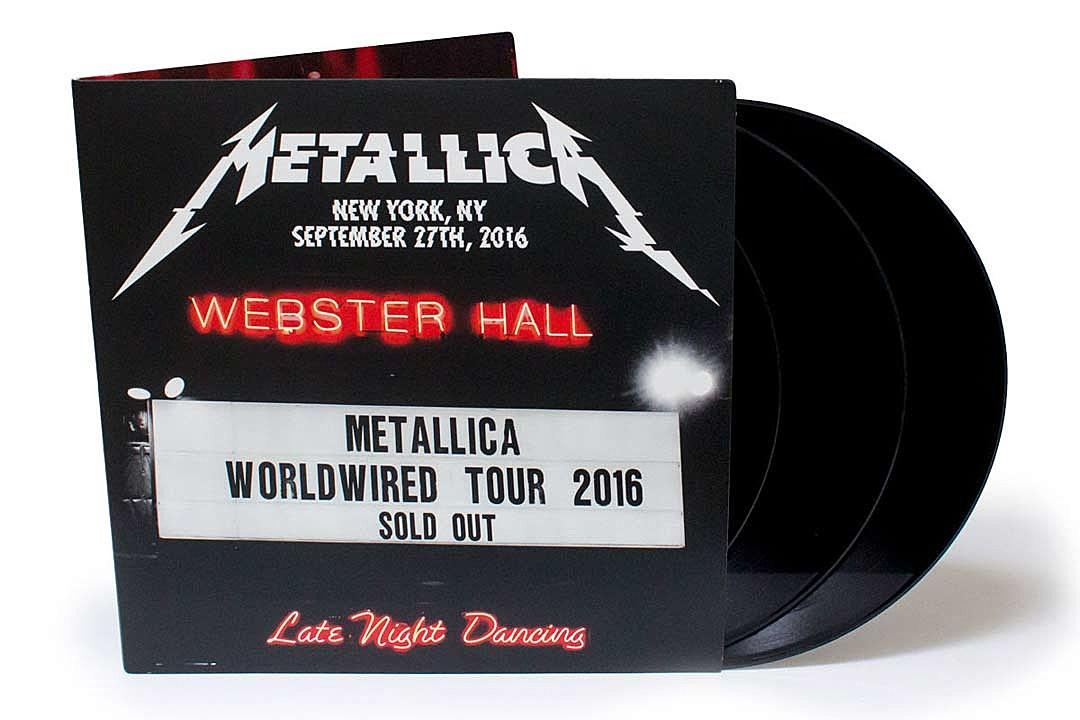 metallica webster hall cover