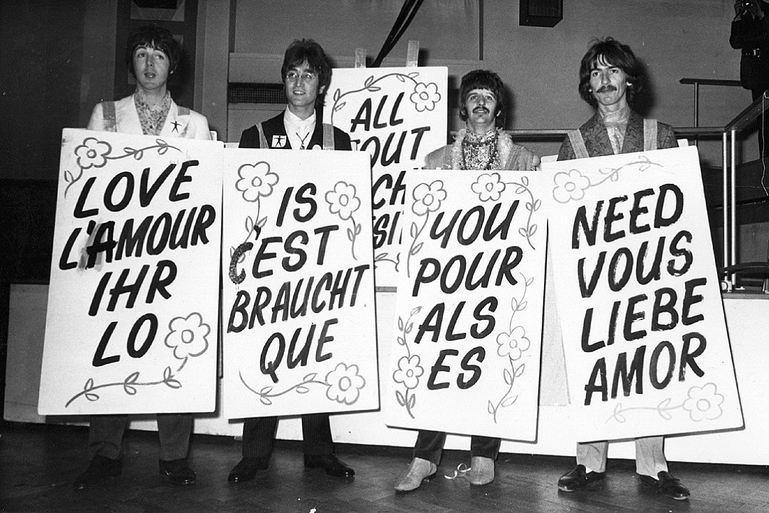 The Beatles Debut All You Need Is Love For The World