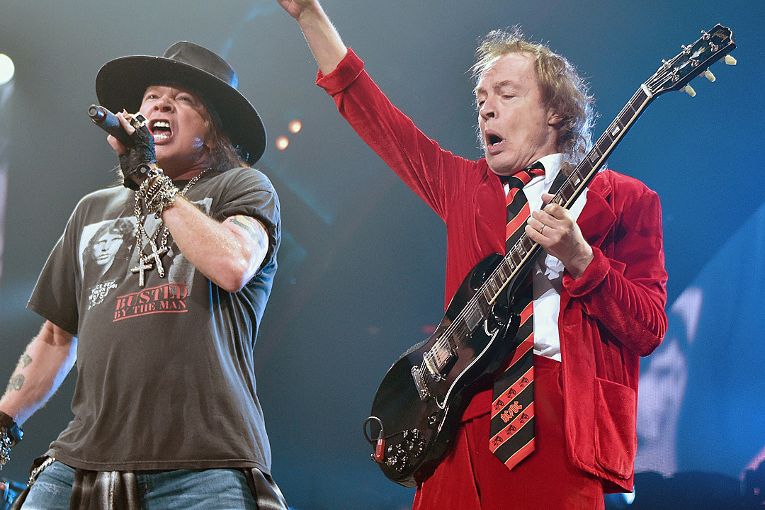 Guns N' Roses Concert Delayed Twice, and Then Angus Young Showed Up