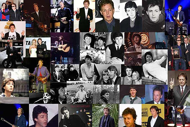 Image result for paul mccartney playing through the years collage