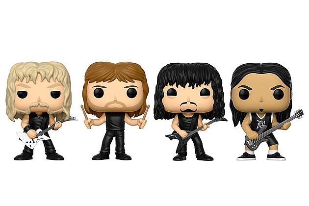 Metallica Funko Pop Figures Coming This Summer