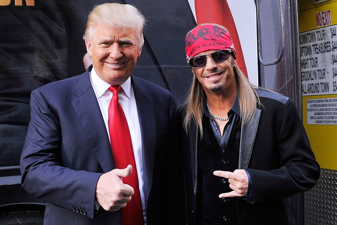 Bret Michaels Still Feels Pretty Good About the Trump Administration