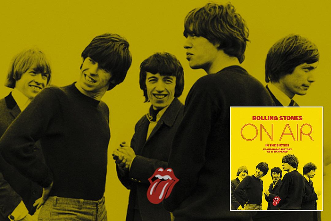 Rolling Stones to Release New 'On Air' Book and DVD Rolling Stones On Air