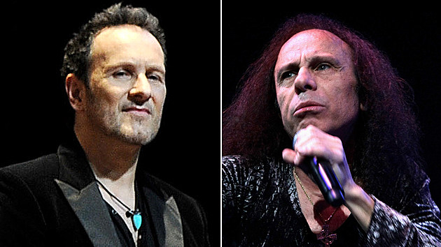 Vivian Campbell and Ronnie James Dio