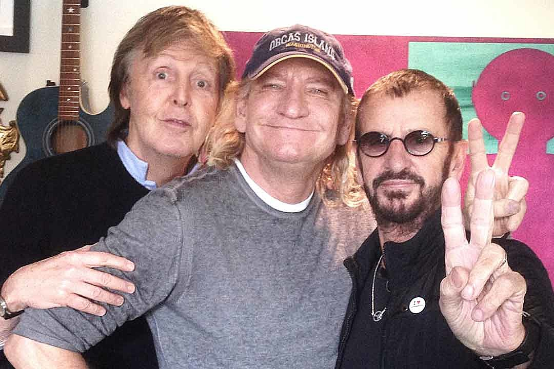 Hear Ringo Starr Team Up With Paul McCartney and Joe Walsh on 'We're On…