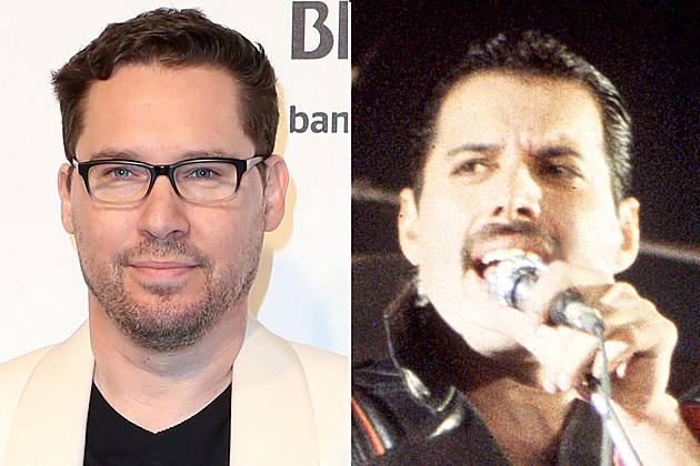 Bryan Singer and Freddie Mercury