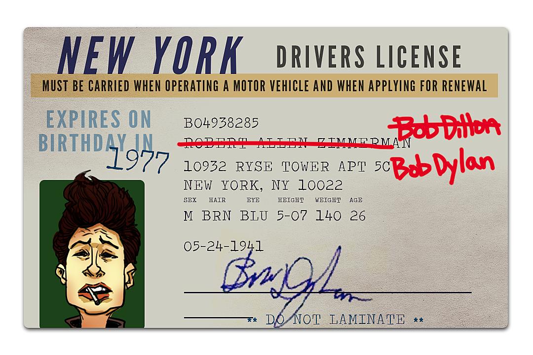 Bob Dylan Name Change