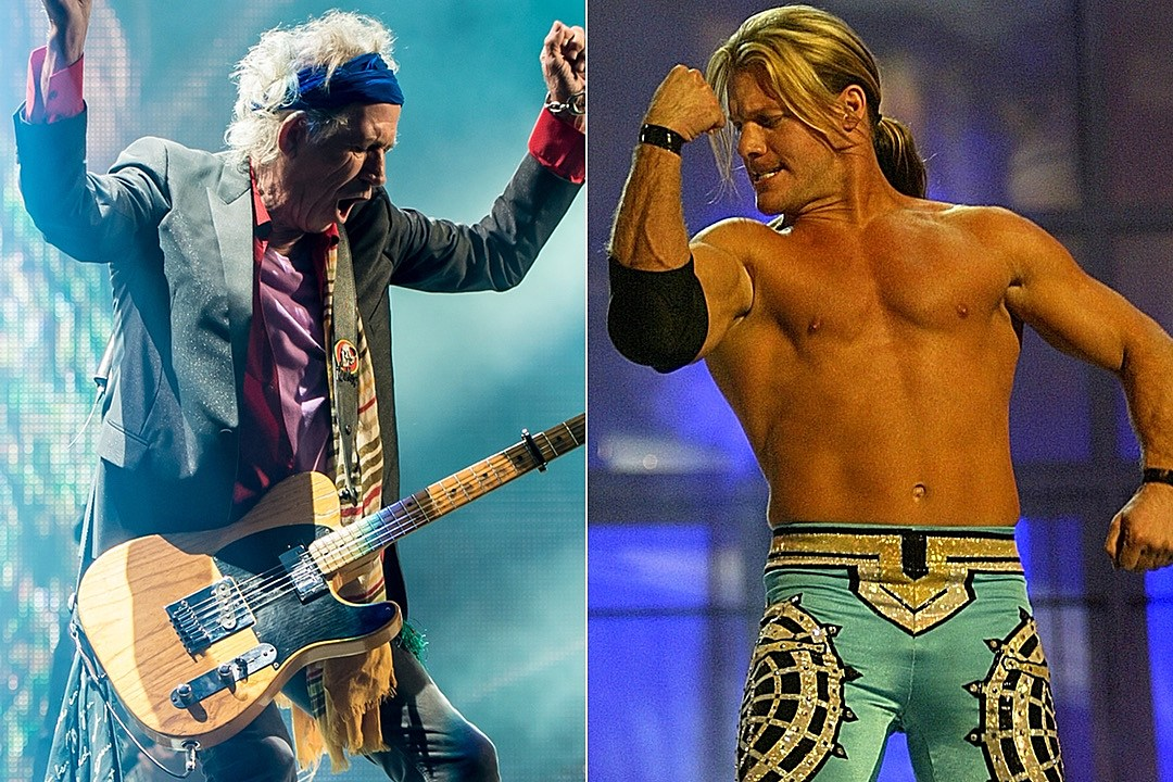Read About the Night Chris Jericho Met Keith Richards