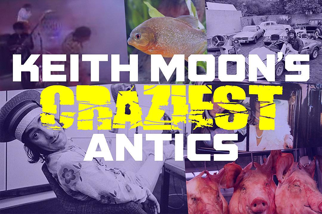 Moon the Loon: Keith Moon's 25 Craziest Antics