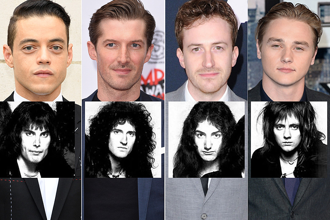 The Freddie Mercury biopic has cast its members of Queen