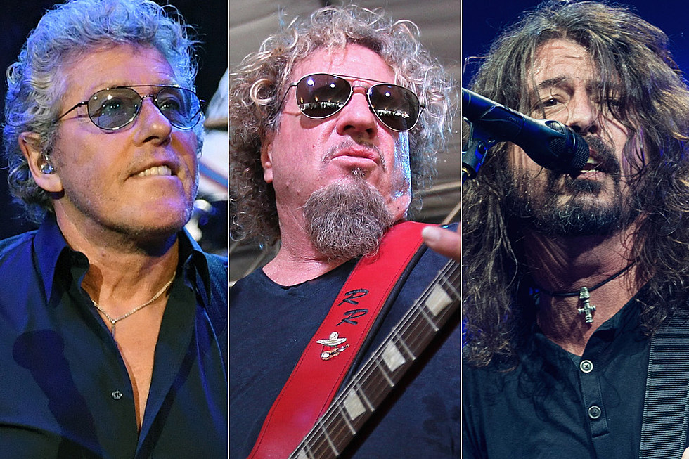 Roger Daltrey And Dave Grohl Will Appear On Sammy Hagars Rock Roll Road Trip
