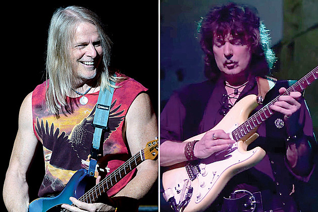 Steve Morse and Ritchie Blackmore
