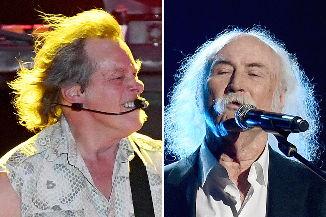 Ted Nugent and David Crosby Are in a Hall of Fame War of Words