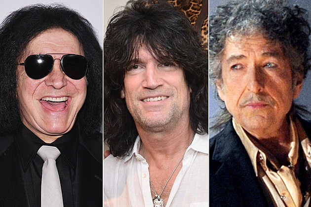Gene Simmons, Tommy Thayer, Bob Dylan