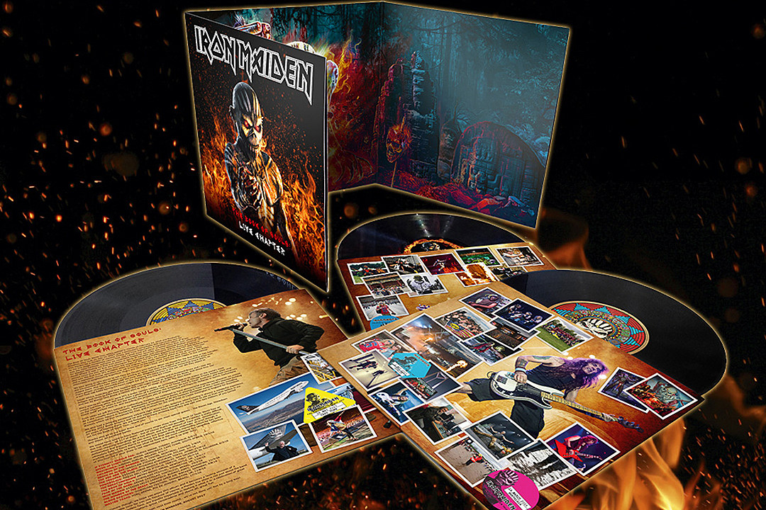 Iron Maiden Announce 'Book of Souls: Live Chapter' Album and Concert Film