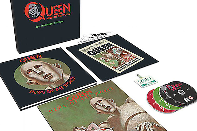 Queen News Of The World 40th Anniversary