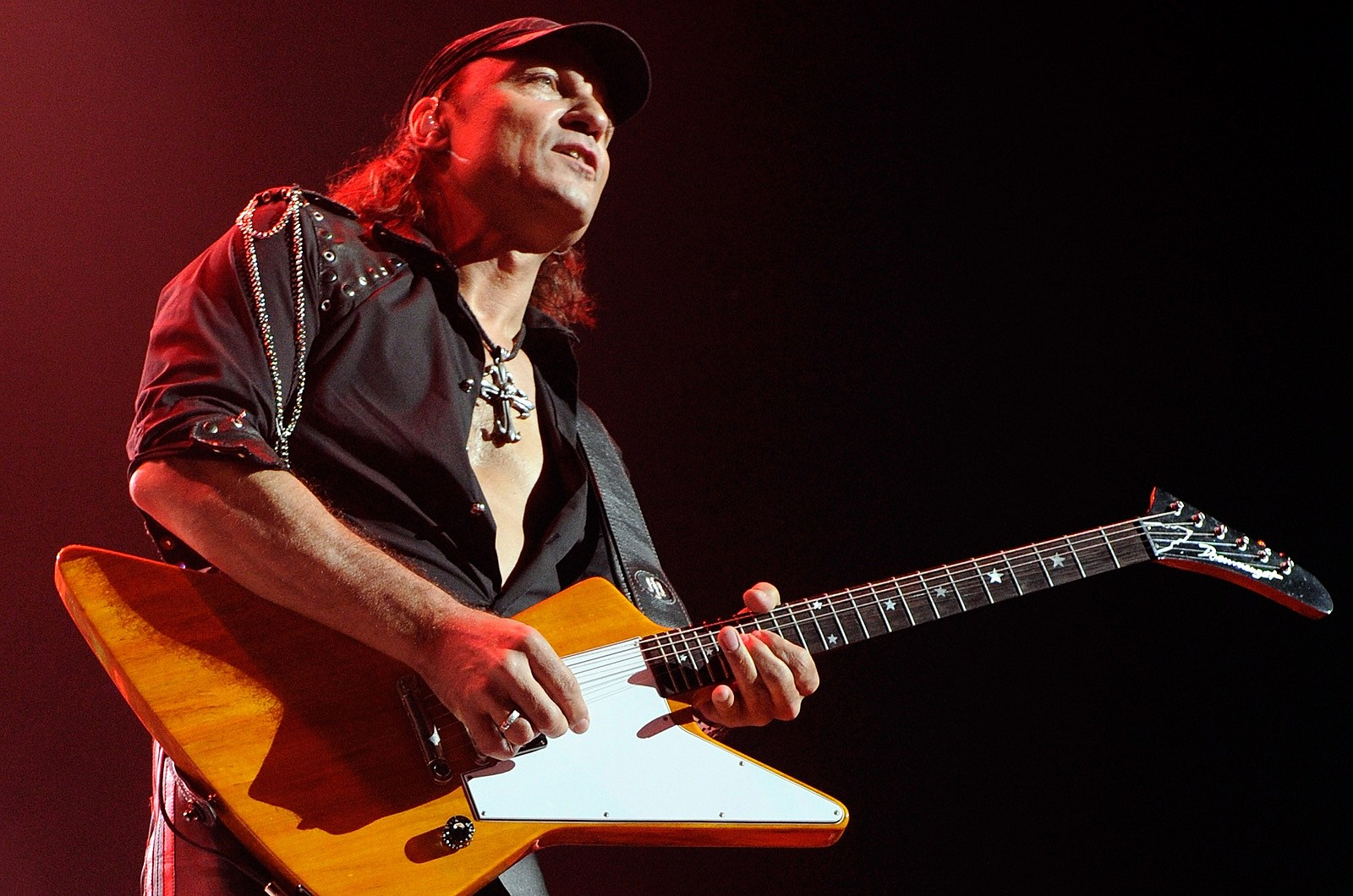 Scorpions And Cinderella Perform At The Thomas & Mack Center