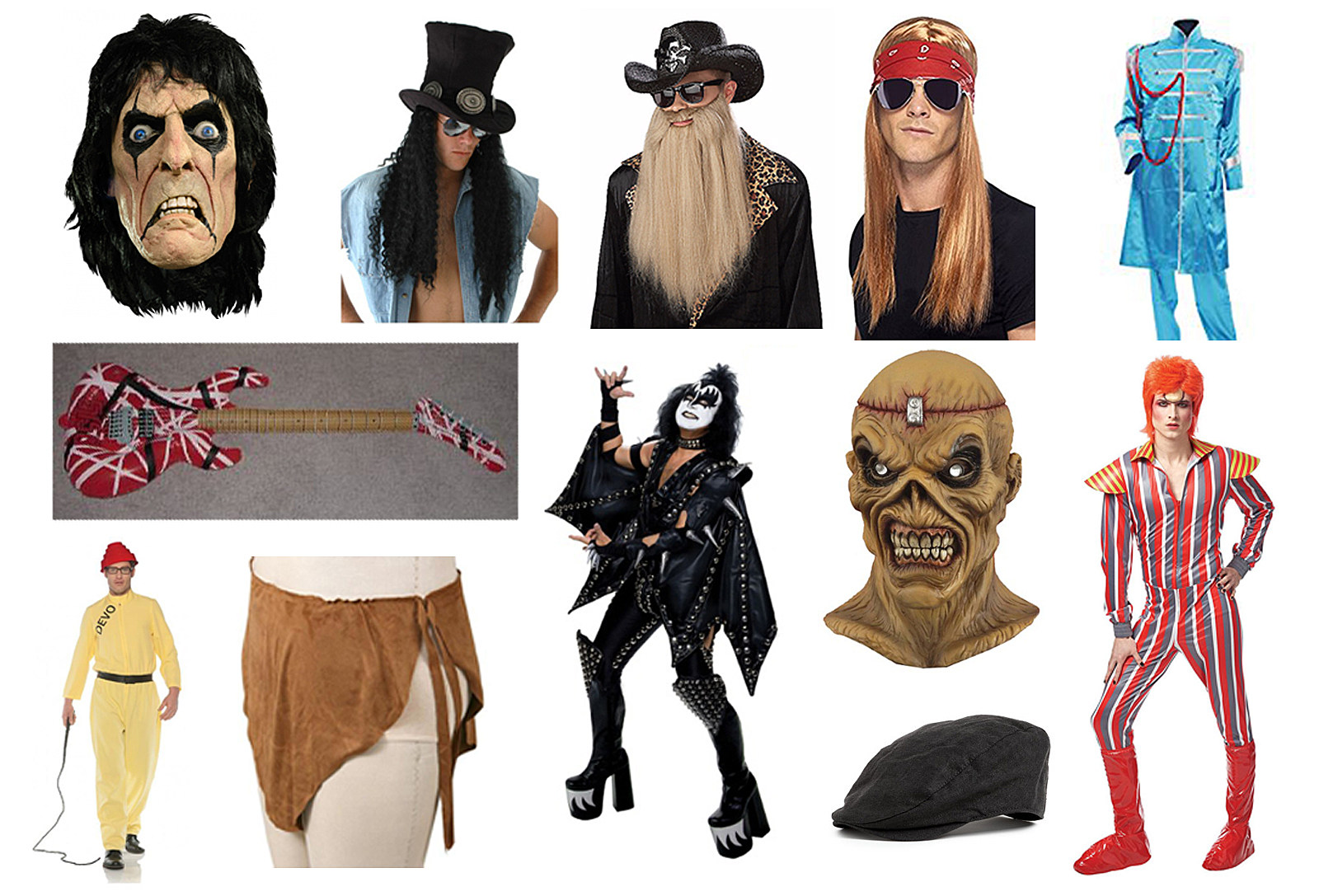 Classic Rock Halloween Costume Gear Guide