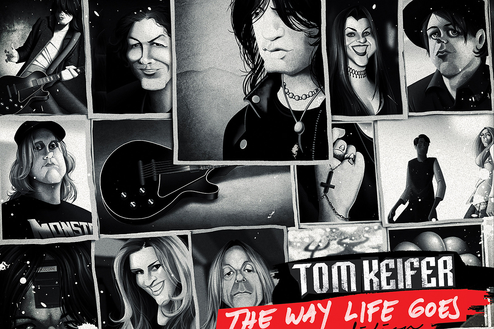 Tom Keifer Unveils 'The Way Life Goes' Video and Deluxe LP Art