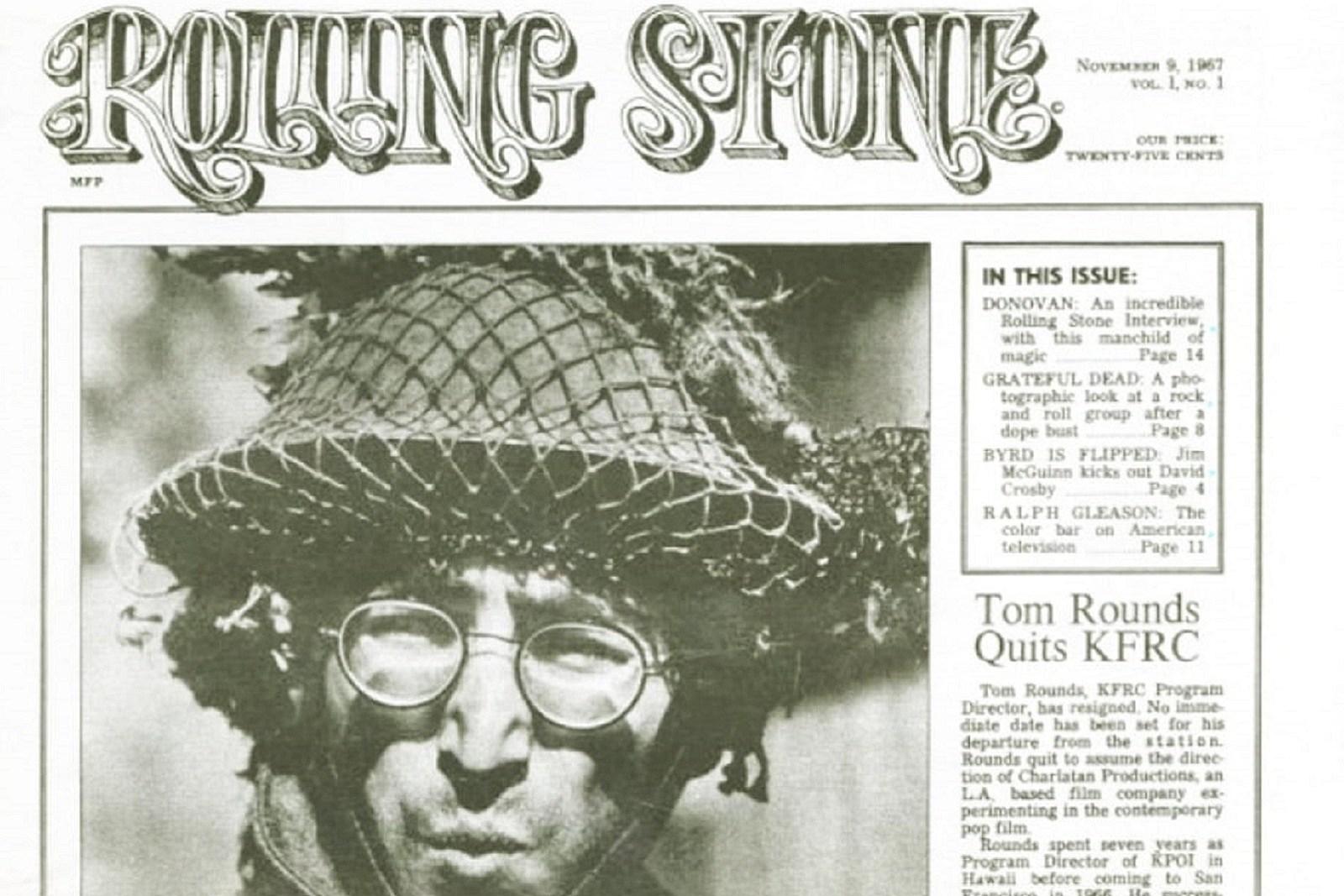 Αποτέλεσμα εικόνας για How I Won the War rolling stone 1967 front page